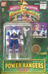 Mighty Morphin Power Rangers Auto Morphin Blue Ranger Billy © 1994 Bandi 2315