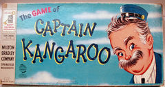Captain Kangaroo Game © 1956 Milton Bradley 4610