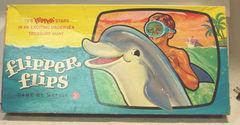Flipper Flips Game © 1965 Mattel