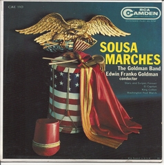 Goldman Band, Sousa Marches  © RCA CAE110
