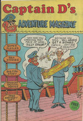 Captain D's Adventure Magazine #11 © 1985