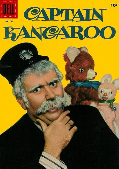 CAPTAIN KANGAROO © March 1957 Dell Four Color  #780