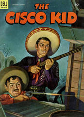Cisco Kid #17 © September 1953 Dell
