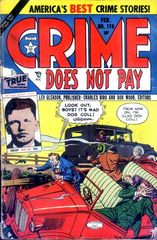 Crime Does Not Pay #119 © February 1953 Lev Gleason