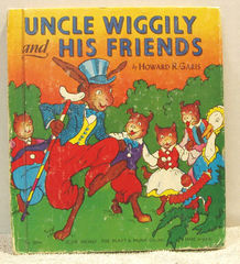 Uncle Wiggily and His Friends © 1955 Howard Garis; Platt and Munk #504