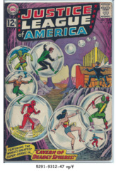 JUSTICE LEAGUE of AMERICA #016 © December 1962 DC Comics