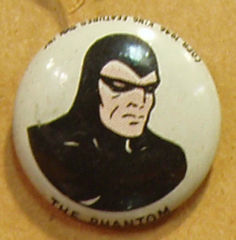THE PHANTOM Kellogg's Pep Pin Pinback Button