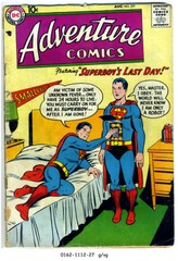 ADVENTURE COMICS #251 © 1958 DC Comics