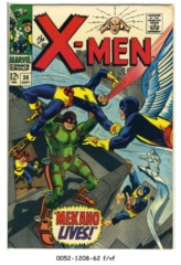 The X-Men #036 © September 1967 Marvel Comics