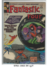 FANTASTIC FOUR #038 © May 1965 Marvel Comics
