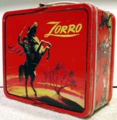 Zorro Lunch Box © 1966 Aladdin Walt Disney