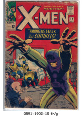 The X-Men #014 © November 1965, Marvel Comics
