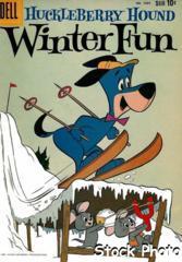 Huckleberry Hound Winter Fun © December 1959 Dell  Four Color #1054