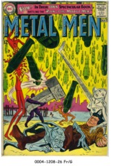 Metal Men #01 © April-May 1963 DC Comics
