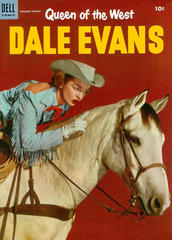 Dale Evans, Queen of the West  #06 © January-March 1955 Dell