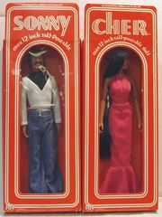 Sonny & Cher © 1976 Mego w/ Boxes