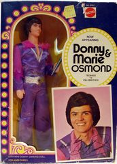 Donny Osmand w/ box © 1976 Mattel 9767