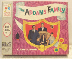Addams Family Card Game © 1965 Milton Bradley 4536