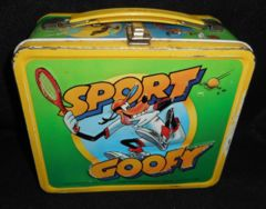 Sport Goofy Lunch Box © 1983 Alladin Walt Disney