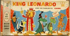 King Leonardo and his Subjects Game © 1960 Milton Bradley 4104