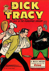 Dick Tracy The Case of the Purloined Sirloin © 1958 Service Station Give-away