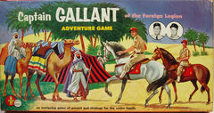 Captain Gallant Adventure Game © 1955, Transogram 3845