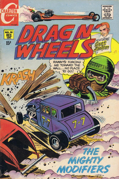 Drag N' Wheels #38 © December 1969