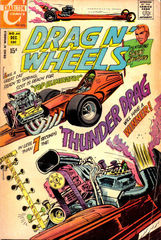Drag N' Wheels #44 © December 1970 Charlton