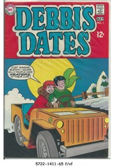 Debbi's Dates #01 © April-May 1969, DC