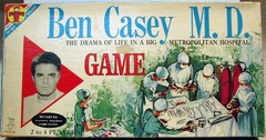 Ben Casey M.D. Board Game © 1961 Transogram