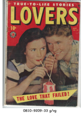 Lovers #23 © May 1949, Marvel Comics