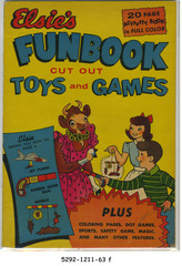 Elsie's Funbook © 1950 D. S. Publishing