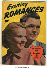 Exciting Romances #1 © 1949 Fawcett