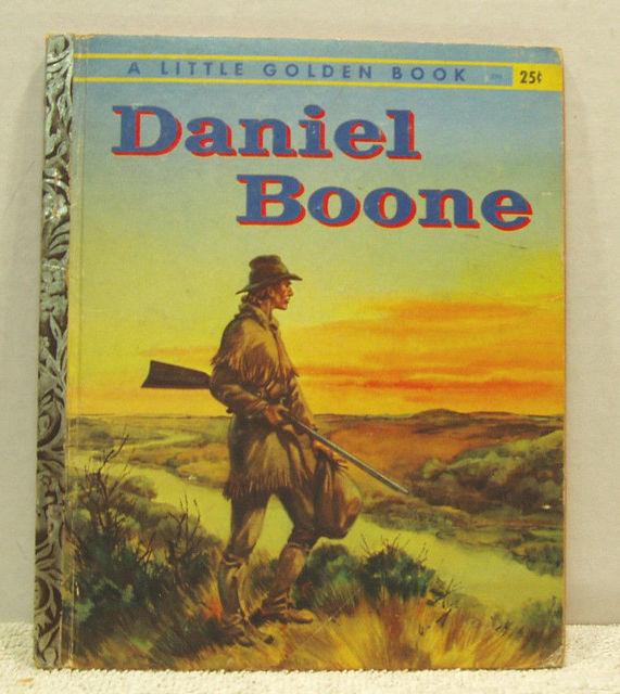 Daniel Boone © 1956 Little Golden Book #256