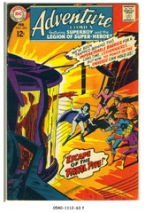 ADVENTURE COMICS #365 © 1968 DC Comics