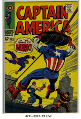Captain America #105 © September 1968 Marvel Comics