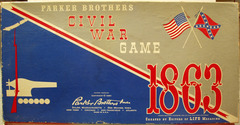 Civil War Game 1863 © 1961, Parker Brothers