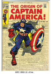 Captain America #109 © January 1969 Marvel