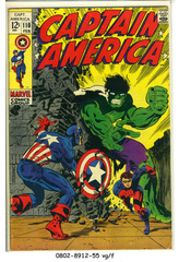 Captain America #110 © February 1969 Marvel