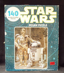 Star Wars R2-D2 & C-3PO Jigsaw Puzzle © 1977, Kenner