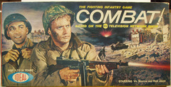 Combat Fighting Infantry Game © 1963 Ideal Games 2221