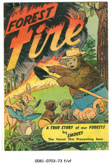 Forest Fire, The 1st Appearance of Smokey the Bear (1950, Commercial Comics)