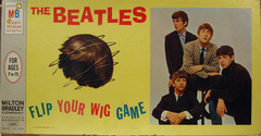Beatles Flip Your Wig © 1964 Milton Bradley 4404