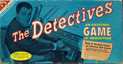 Detectives Game © 1961 Transogram 3827