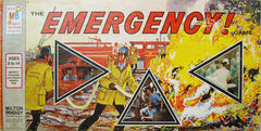 The EMERGENCY! Game © 1974 Milton Bradley 4406 1st edition 19