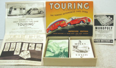 Touring Automobile Card Game © 1937 Parker Brothers