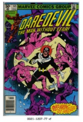 Daredevil #169 © March 1980 Marvel Comics