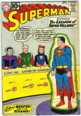 SUPERMAN #147 © August 1961 DC Comics