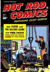 Hot Rod Comics #3