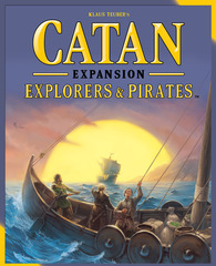 Settlers of Catan: Explorers and Pirates © 2015 Mayfair Games MFG 3075